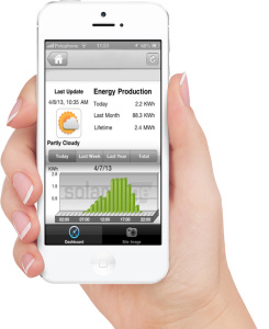 Mobile Solar monitoring App
