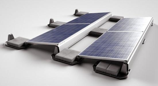 Ballast Solar Panel Installation
