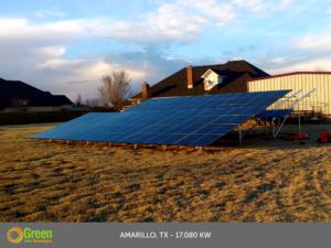 Green Solar Technologies Solar System Installation Amarillo Texas